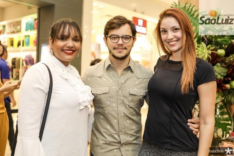 Patricia Ramos, Juarez Sousa e Crislei Silva