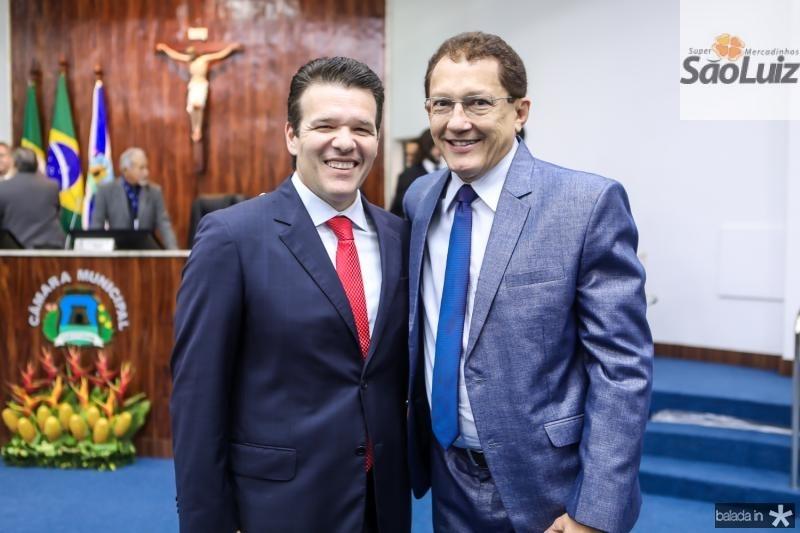 Ferruccio Feitosa e Elpidio Nogueira