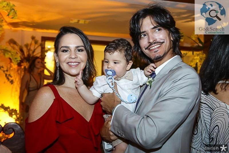 Celia, Pedro e Rafael Almeida