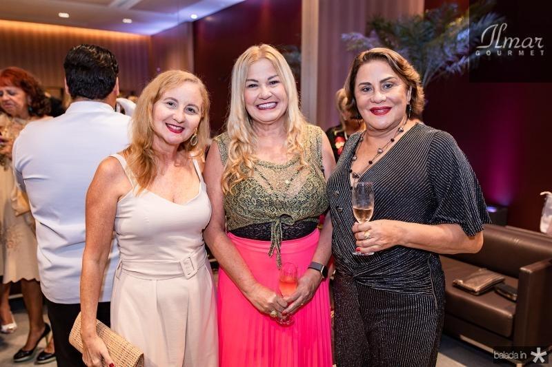 Sily Praciano, Stelinha Frota e Karina Sampaio