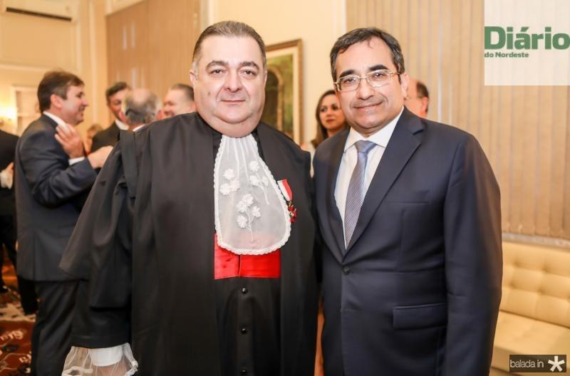 Francisco Vasconcelos e Jardson Cruz