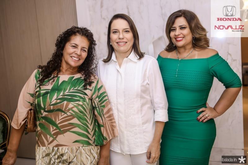 Ana Maria Borges, Denise Bezerra e Montielli Arruda