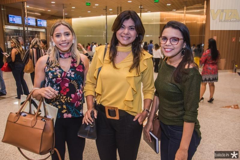 Iviani Marques, Karinny Evangelista e Rosane Araujo