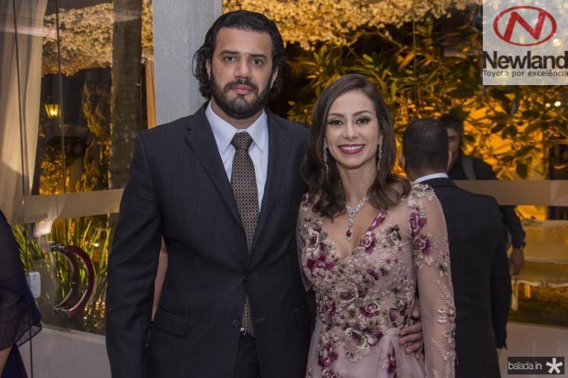 Bernardo Borges e Marina Landim