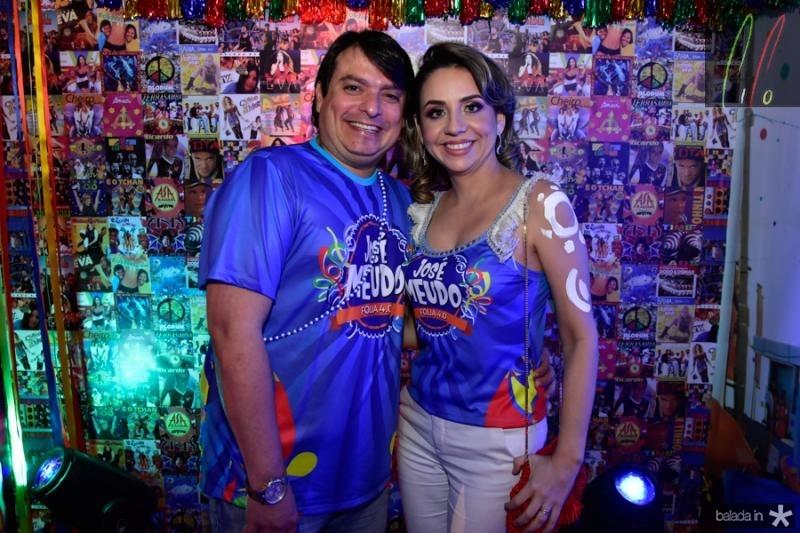 Leonardo Holanda e Viviane Peixoto
