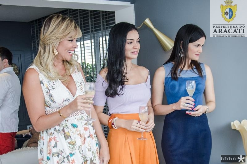 Patricia Dias, Ilka Franck e Camile Quintao