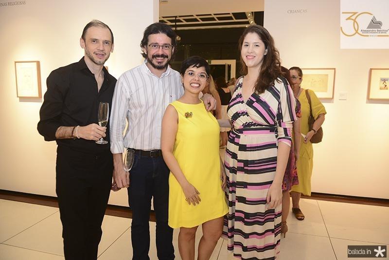 Daniel Amorim, Miguel Franklin, Manuella Figlioulo, Sofia Portela