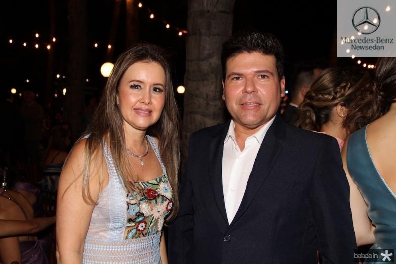 Liana Fujita e Julio Nogueira