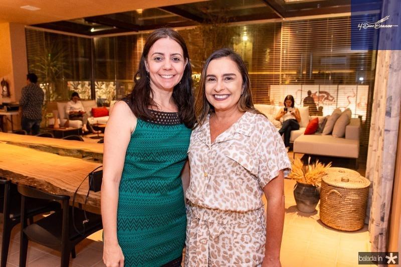 Vanessa Cordeiro e Paula Holanda