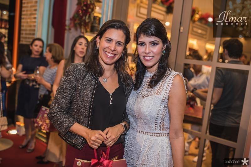 Gisela Fujiuwara e Flavia Laprovitera