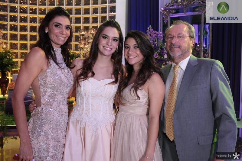 Rebeca,Carol,Beatriz e Cândido Albuquerque