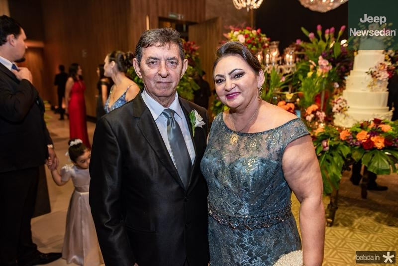 Moroni e Francina Angelim