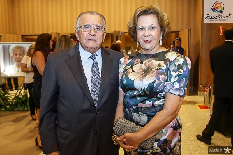 Joao Carlos e Auxiliadora Mendonça