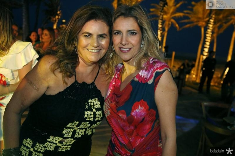 Islane Vercosa e Eliziane Colares