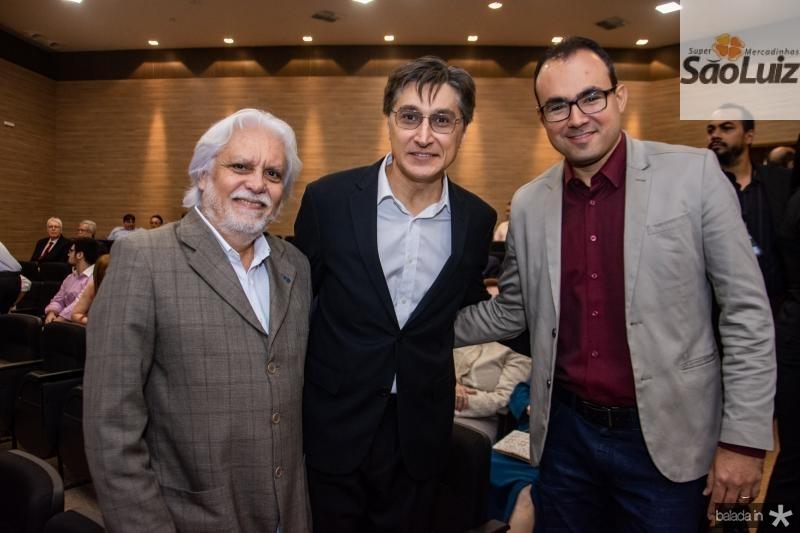 Joaquim Cartaxo, Hugo Figueiredo e Carlos Alberto