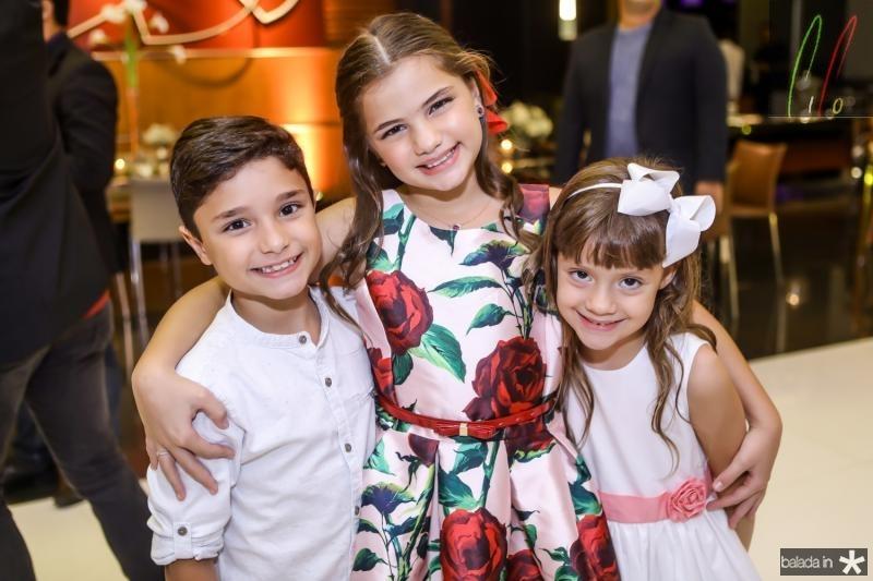 Deusmar Neto, Natalia e Leticia Queiros