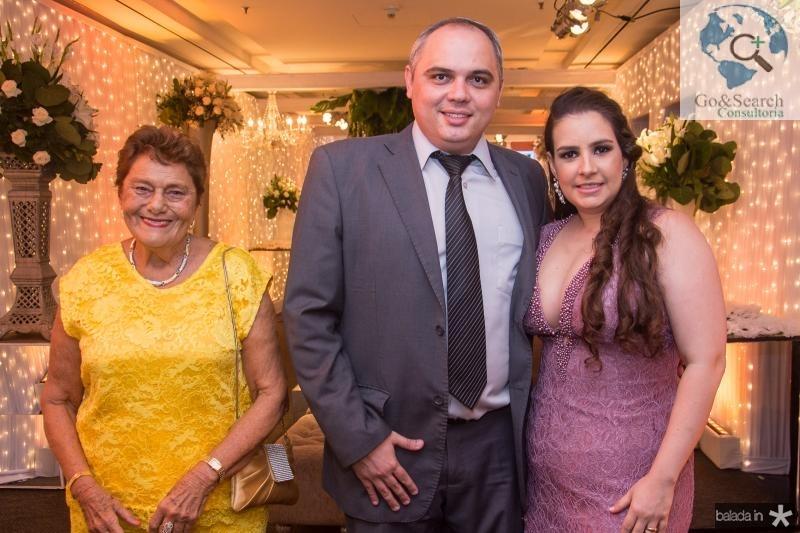Alice Peixoto, Bruno Fontenele e Ticiana Cavalcante