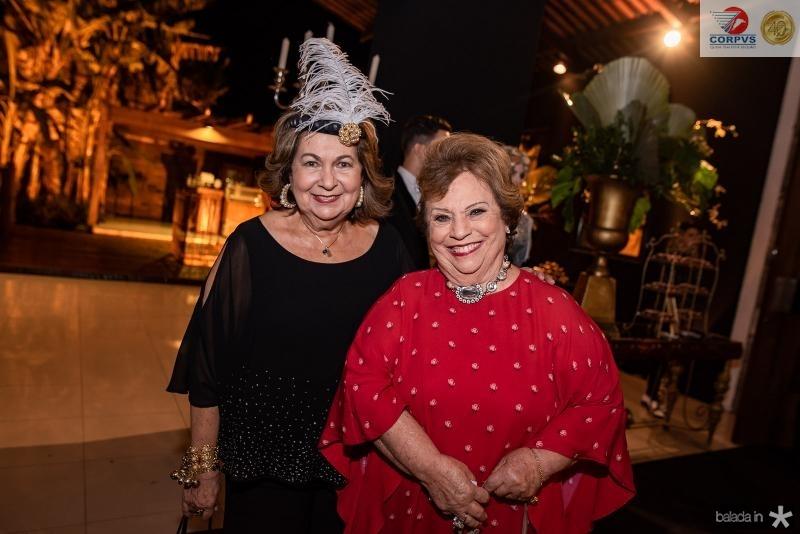 Najda Se Cavalcante e Ana Penteado