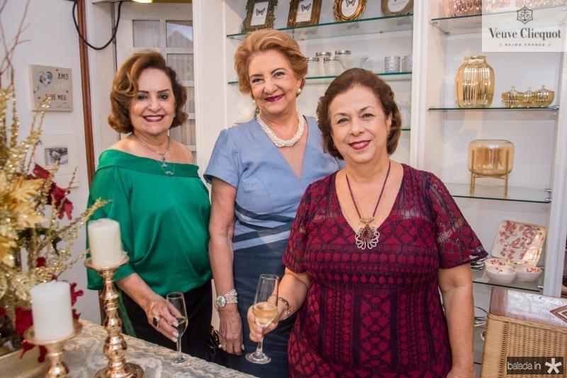 Regina Correa, Tereza Borges e Julia Philomeno
