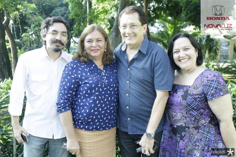 Walber Feitosa, Ana Lucia, Elpidio Nogueira e Norma Zelia