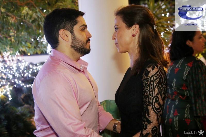 Fernando Victor e Natercoia Saboya
