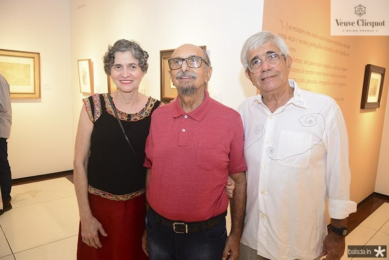 Lucia Galvao, Roberto Galvao, Ricardo Bezerra