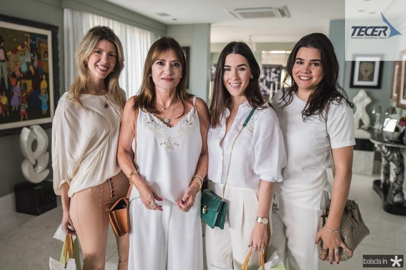Caterine Feitosa, Pretinha Rolim, Sarah Brasil e Priscila Leal