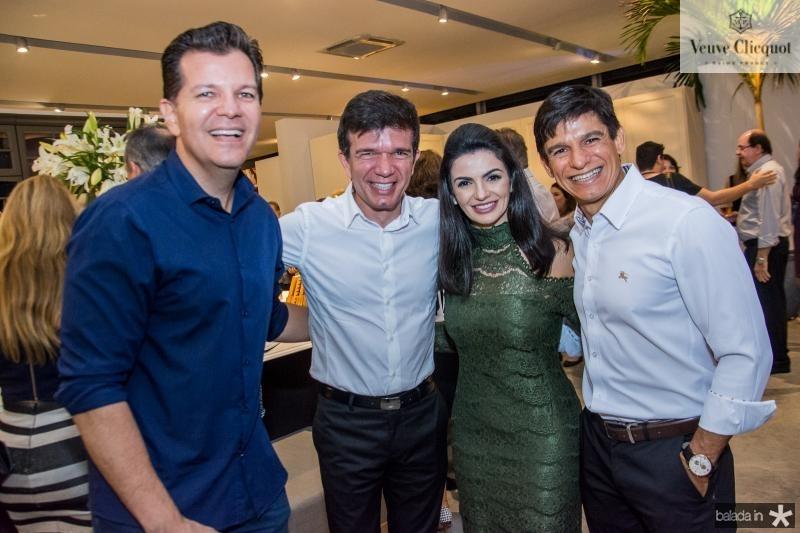 Gustavo Serpa, Waldonys, Monaliza Cavalcante e Orlando Cavalcante