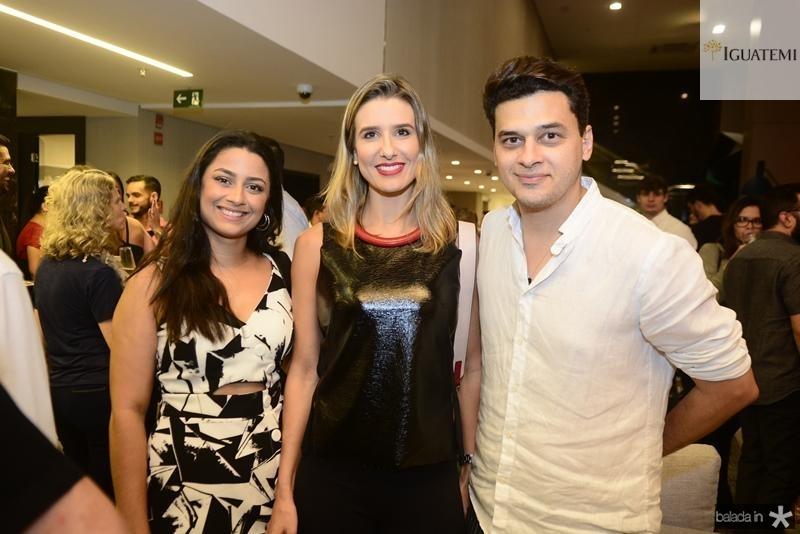 Taiza Cardoso, Suzana Fiuza, Pablo Guterres