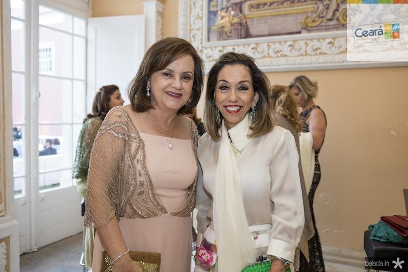 Leninha Soarez e Marcia Távora