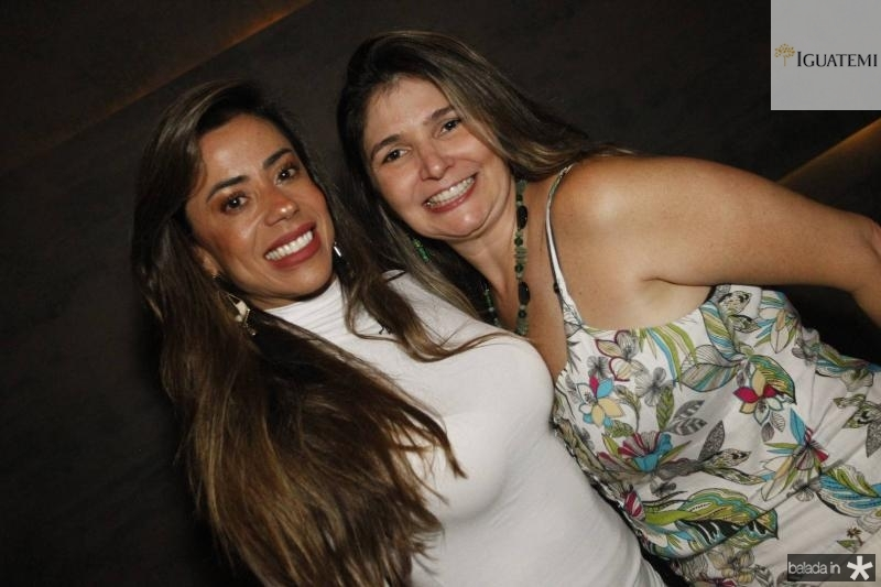 Germana Rabelo e Clarissa Marques