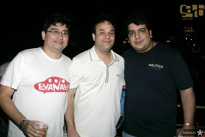 Renato Barbosa, Enio Cabral e Magno toy