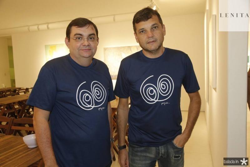 Marcos Aurelio e JB Pinto