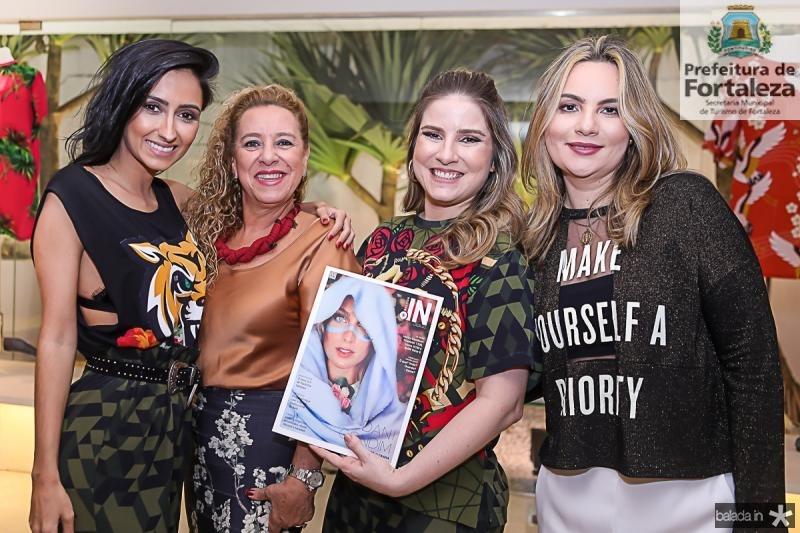 Francesca Munfrinatti, Bricia Teixeira, Maria Clara Dallolio e Soraya Pinheiro