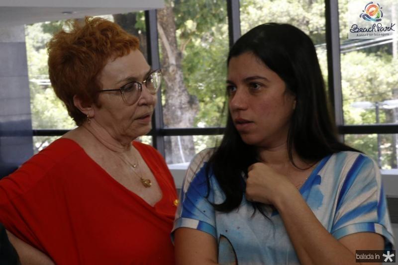 Eugenia Nogueira e Renata Sampaio