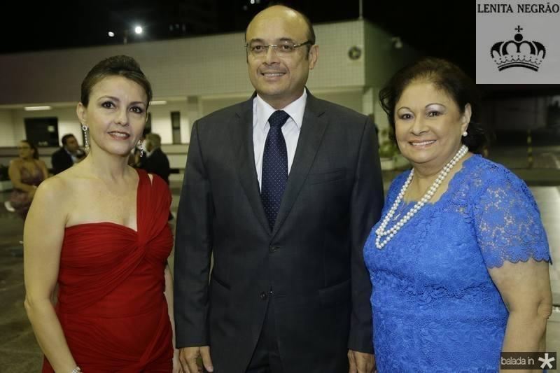 Cirde Jane, Adriano e Aurideia Fiuza