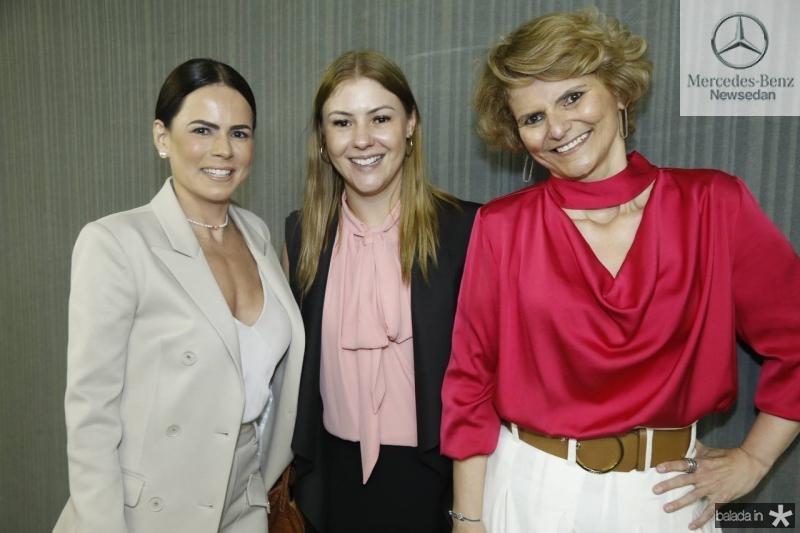 Luciana Souza, Fernanda Denartir e Joseana Franca
