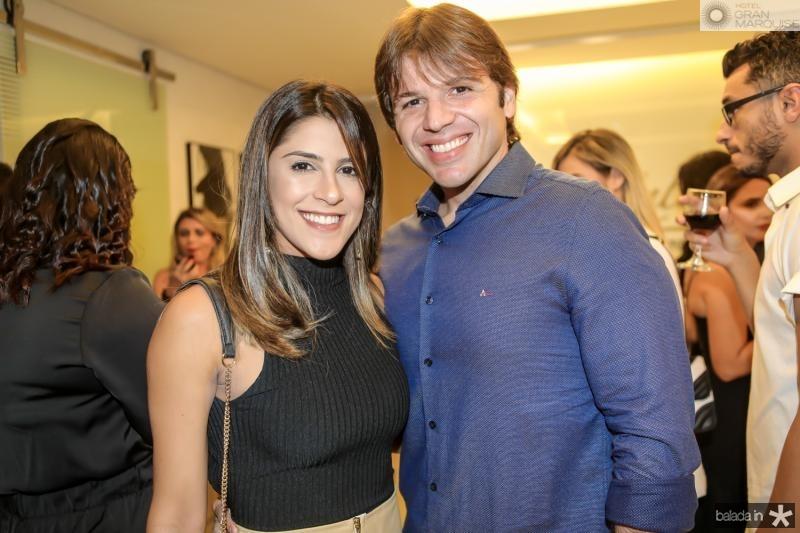 Clarissa Aguiar e Paulo Porto