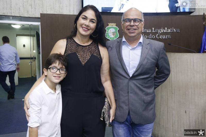 Pedro e Isabella Fiuza e Marcio Menezes