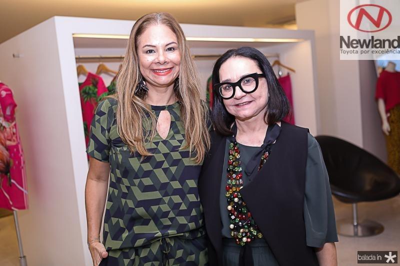 Milena Lima e Celi Andrade