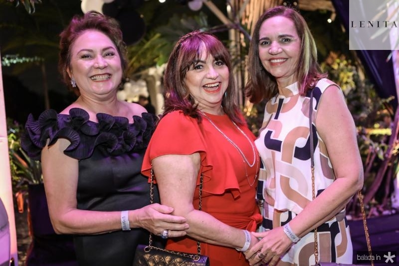 Paula Frota, Carmen Cinira e Lucia Rocha