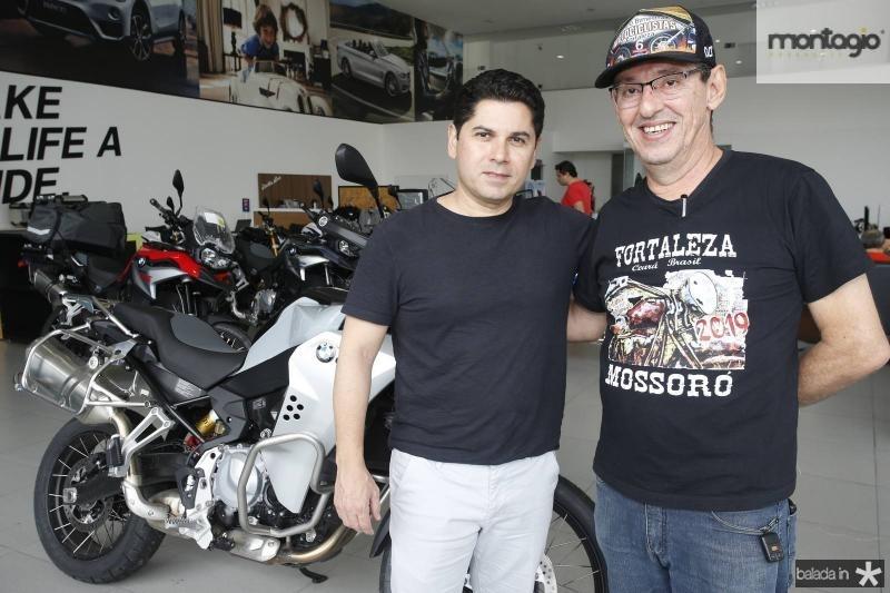 Pompeu Vasconcelos e Gerardo Aguiar