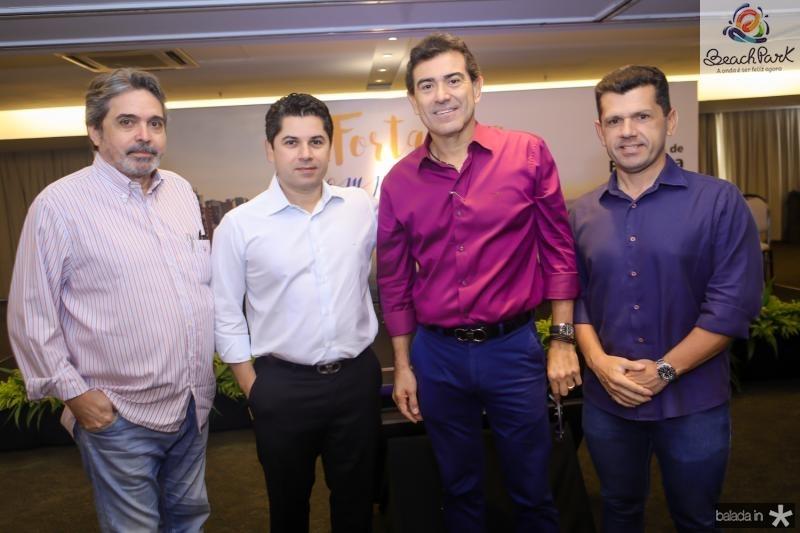 Totonho Laprovitera, Pompeu Vasconcelos, Alexandre Pereira e Erick Vasconcelos