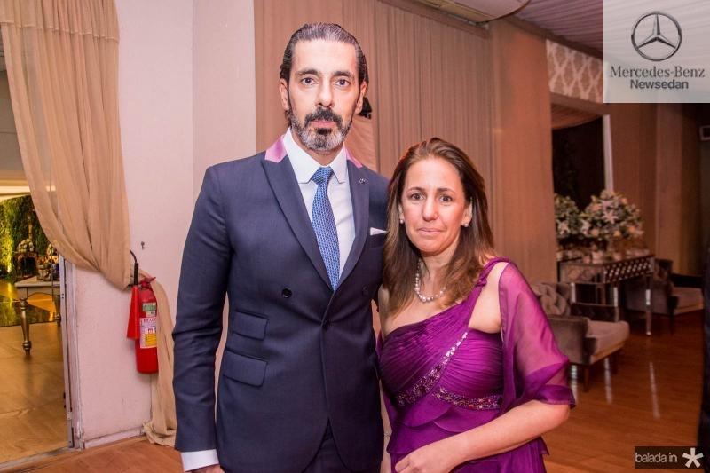Alexandre e Juliana Taleb