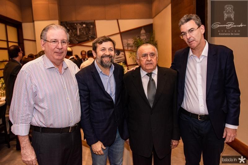 Ricardo Cavalcante, Elcio Batista, Joao Carlos Paes Mendonca e Geraldo Luciano