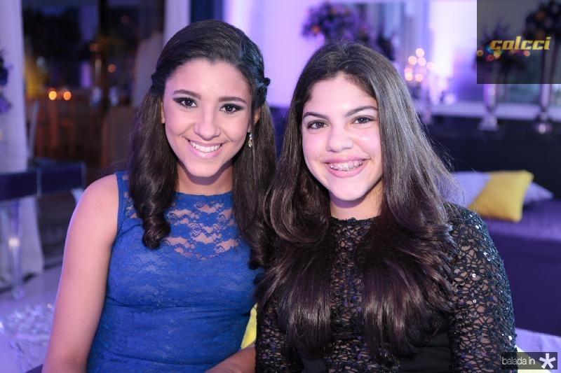 Leticia Barcelar e Manoela Alves