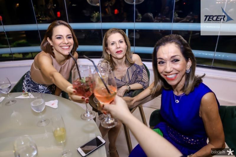 Roberta Bezerra, Glaucia Castelo Branco e Marcia Tavora