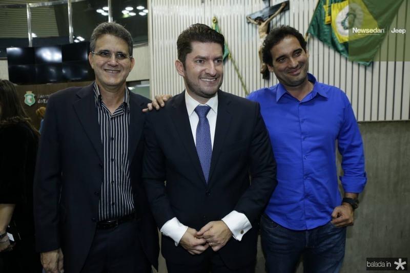 Paulo Pina, Paulo Jose Benevides e Daniel Nascimento