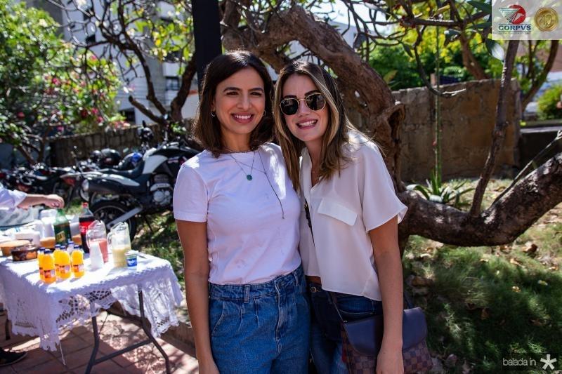 Manuela Cidrao e Juliana Hissa