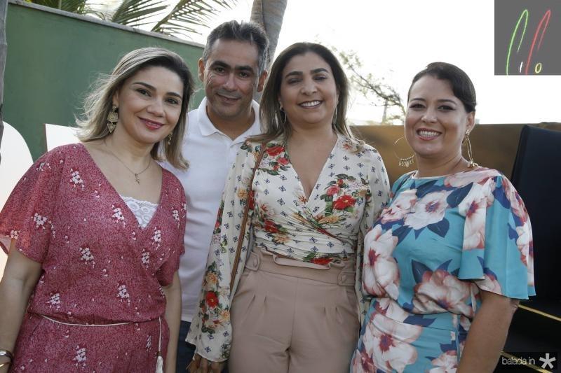 Ana Beatriz Pontes, Marcos Aragao, Joselma Macedo e Vivi Rocha